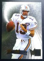 DAN MARINO 1995 FLEER METAL Silver Flashes Miami Dolphins #24