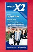 Stagecoach Yorkshire X2 ~ Barnsley to Sheffield Hallamshire Hospital - Apr 2019