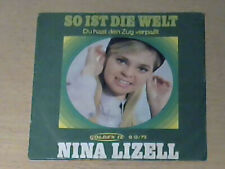 "7"" ONLY/NUR COVER ! NINA LIZELL * So ist die Welt"