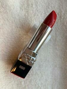 CHRISTIAN DIOR Rouge Lipstick 999 Red Tester Version Full Size