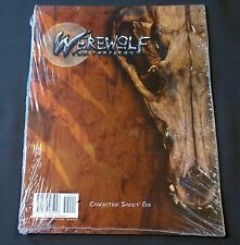 Werewolf The Forsaken Character Sheet Pad White Wolf Mint Sealed