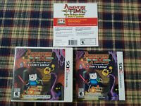 Adventure Time Explore the Dungeon Because I don't Know - Nintendo 3DS Case Only