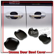 Unpaint Toyota Sienna 3rd Minivan Out Side Door Bowl Cover 4 Pcs 2015