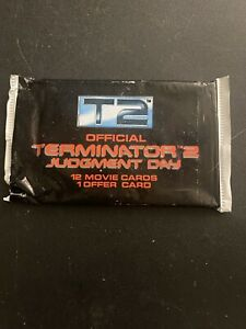 Terminator 2 Movie Trading Card Pack Lot of 6
