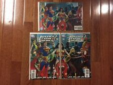 Justice League Of America #12 (2007) 2nd Print Ross Variant LOT - Rare, HTF NM