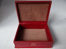 Omega Constellation Calendar Watch Box Vintage, in Leather, 1950's