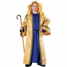 Child Deluxe Joseph Costume Biblical Times Nativity Christmas Size Medium 8-10