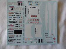 NEW 1:43 OPEL MANTA 400 Decal Colsoul 1985 Dakar Rally Motorsport