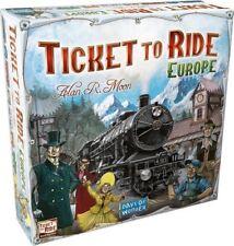 Ticket To Ride Europe Famille Train Jeu De Société