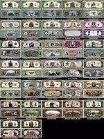 A COMPLETE MILITARY DOLLAR BILL SET (32 BILLS)