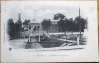 Joliette, Quebec, Canada 1907 Postcard: Parc Renaud, Gazebo