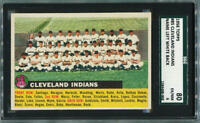 1956 Topps Cleveland Indians #8. SGC 6.