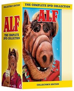 """ALF COMPLETE SERIES COLLECTION 1-4 DELUXE DVD BOX SET 16 DISCS """"NEW&SEALED"""""""