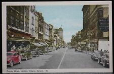 "LONDON, ONT. ""DUNDAS STREET, LONDON, ONTARIO, CANADA #45"" - Automobiles - c1930"
