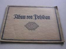 "Vintage Album von Potsdam with 1 Panorama and 29 Photos 9 3/4"" x 12 3/4"""
