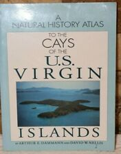 BOOK 1992 THE CAYS OF THE US VIRGIN ISLANDS ILLUSTRATED ATLAS MAPS