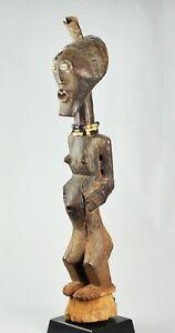 Grand Fétiche SONGYE 78 cm statue Congo Power figure Fetish Art Africain 1341