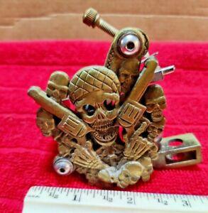 Vintage Custom Tattoo Gun Handmade Work Of Art Rare and Unusual