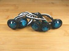 5 BBT Waterproof 12 volt Blue LED Push-In Landscape Accent Lights