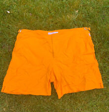 Mens Orlebar Brown Classic Bulldog Orange Swimshorts - W36
