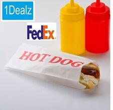 1000 PACK CASE keep warm Hot Dog Bags Brand New  $10 rebate  FedEx
