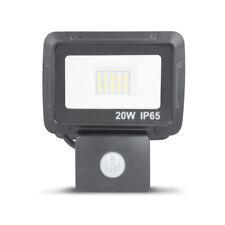 LED Flutlicht Fluter Strahler 20 Watt 1600 Lumen mit Bewegungsmelder IP65 Außen