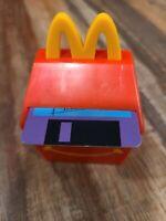 1999 McDonalds Happy Meal FOOD FOOLERS #1 Happy Meal Box Computer