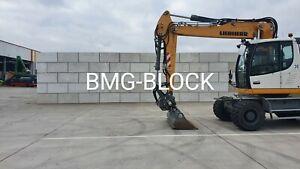 Betonblocksteine Betonblock Mauerstein Lego-Stein