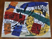 FERNAND LEGER wooden Puzzle 24 pieces -  Complete