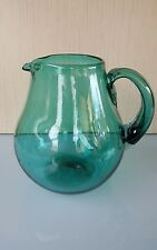 JUG MADE FROM RECYCLED GLASS -  HAND MADE IN MEXICO - GREEN