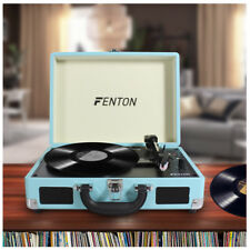 Fenton RP115 3 Speed Retro Vinyl LP Record Player Turntable 33 1/3 45 78 RPM