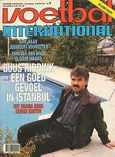 V.I. 1991 nr. 03  -  STOJTSKOV/LARSSON/KRUTOV/HIDDINK & FENERBAHCE/ARIE HAAN