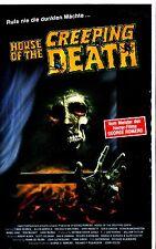 VHS** House of the Creeping Death - Regie: George Romero mit Michael Freeman -