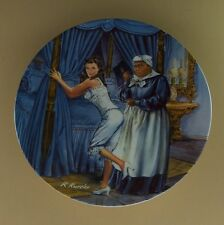 Gone With The Wind Mammy Lacing Scarlett Plate #5 Fifth Issue +Coa & Leaflet