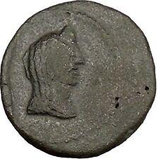 Phanagoria as Agrippia in Bosporus 14BC Livia Aprodite Galley Greek Coin i38366