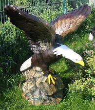 WEIßKOPFADLER SEEADLER ADLER Weißkopfseeadler Greifvogel Deko Figur lebensgroß