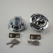 US STOCK 2 Pieces Flush Pull Hatch Latch Lock For Marine Boat High Quality Newly