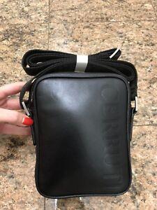 Cerruti 1881 Leather Messenger Crossbody Bag