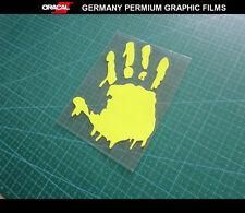 Rossi 46 hand print Motorcycle MotoGp Fuel tank / body decal Vinyl sticker