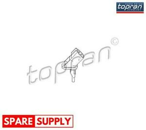 SENSOR, WHEEL SPEED FOR FORD TOPRAN 303 944