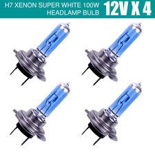 4X 12V H7 100W Xenon White 6000k Halogen Car Head Light Lamp Globes Bulbs 4PCS