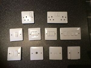 Hager Sollysta Range Sockets, Switches & Accessories ** MULTI BUY  DISCOUNT **