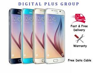 SAMSUNG GALAXY S6 G920 32GB 64GB 128GB - Unlocked - Smartphone Mobile Phone