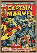Captain Marvel  #30 - Thanos Cameo! - 1973 (Grade 7.5) WH
