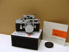 "Leitz Wetzlar - Leica M3 SS Kit Summicron-M 1:2/5cm ""L-Siegel intakt"" - RAR!"