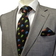 Hergest Silk Tie With Classic Mini Design
