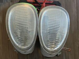 97-00 OEM Lexus SC300 SC400 foglight fog lamp driving light pair right & left