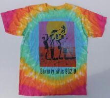 NEW BODY RAGS CLOTHING CO 90210 TV SERIES TIE DIE T-SHIRT SZ SMALL