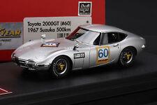 TOYOTA 2000GT (#60) 1967 SUZUKA 500km  -- HPI #8821  RESIN 1/43