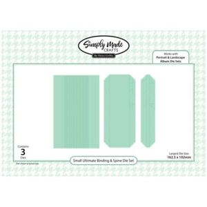 Simply Made Crafts Die Set Small Ultimate Binding & Spine System